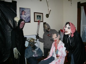 Zombie House: zombie-aware, haunted and ready to host