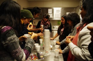 New student group centered on conversation, Chai