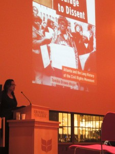 Brown-Nagin explores effects of civil rights in new book 'courage to dissent'