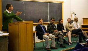 Professors discuss Middle East turmoil