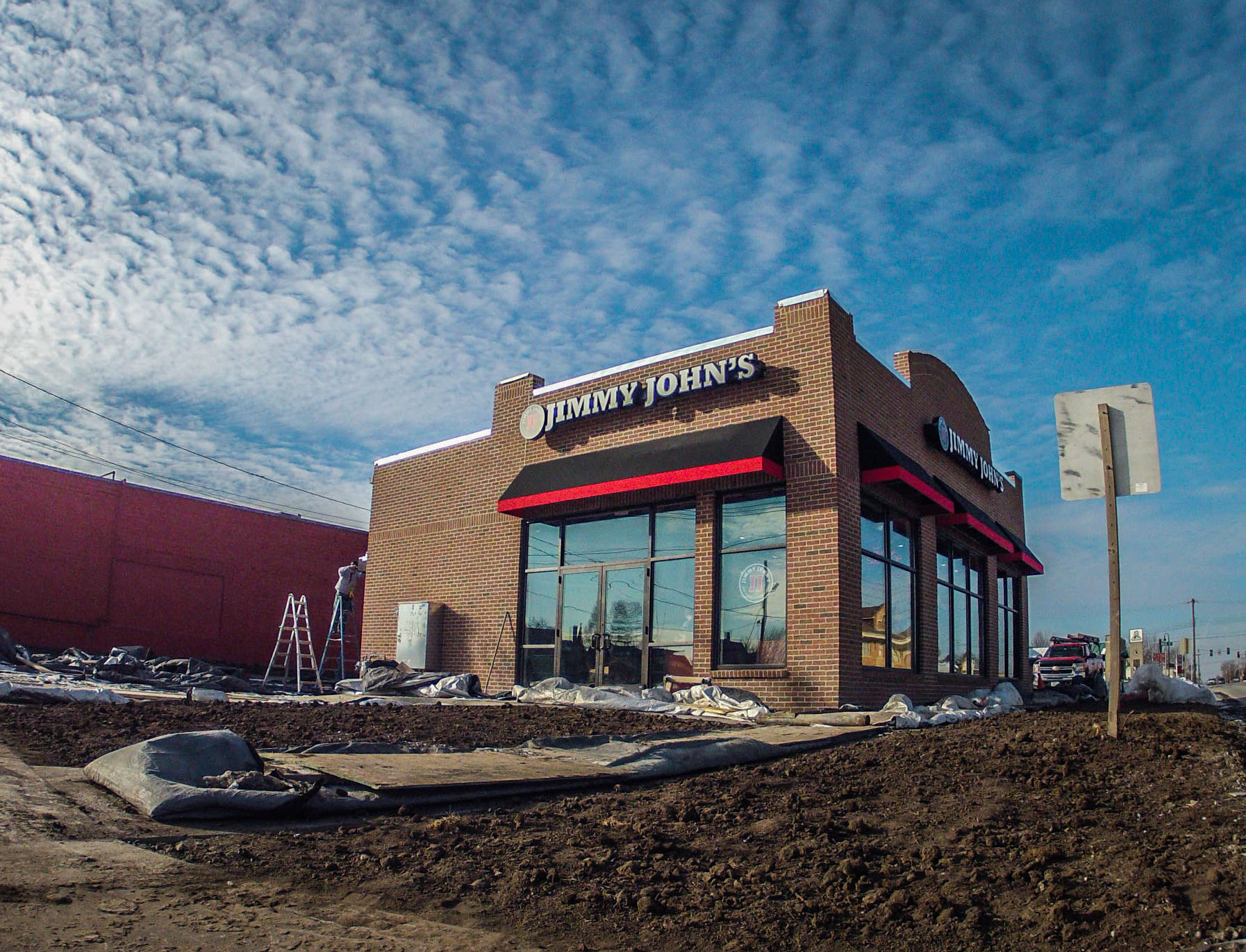 Jimmy John's is now open on 6th and Main. Photograph by John Brady.
