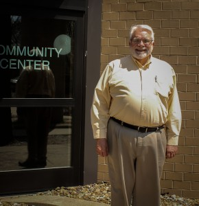 Mayor Gordon Canfield, long-time resident and head of Grinnell's community since 1997.
