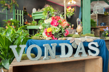 Vonda's Flowers & Gifts offers  a wide variety of products for their customers including flowers, art and jewelry. Photo by Rae Kuhlman.