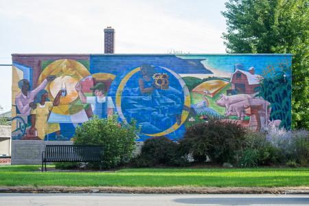 Street Mural - Sofi Mendez