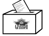 Grinnell votes on incumbents