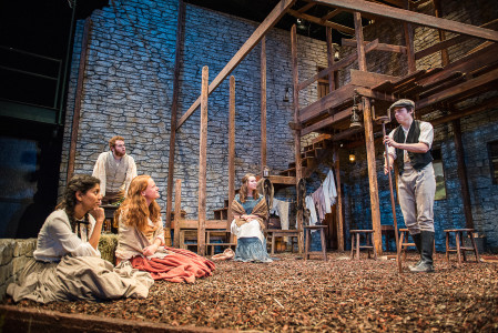 """Translations"" features an extensive set that transports that audience to 1800s Ireland. Photo by John Brady"