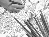 Grown-ups invited to color at Drake Library
