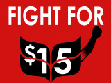 Fight For 15 organizes for higher minimum wage