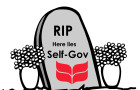 "Students to host ""funeral for self-gov?"""