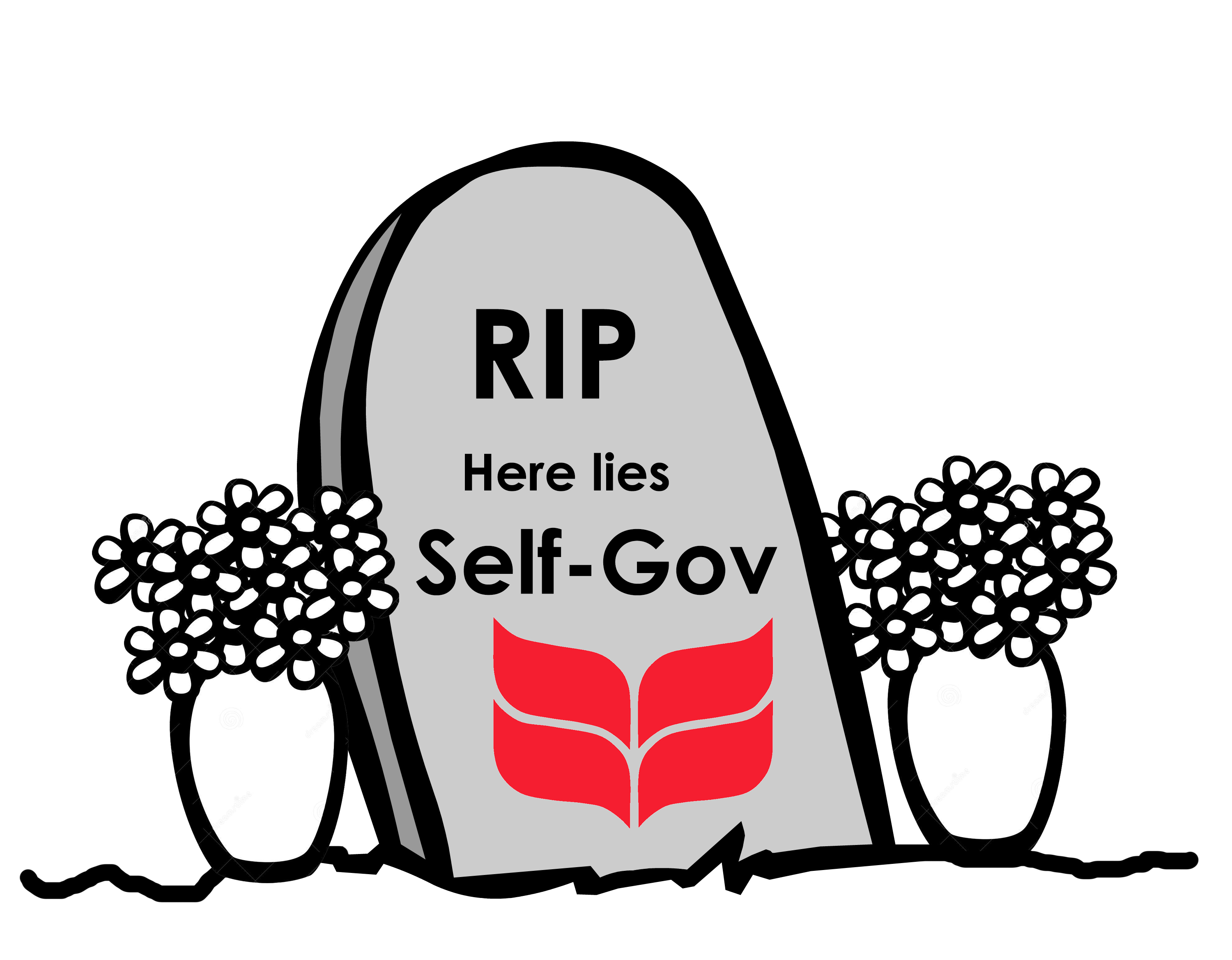 Funeral for Self-Gov Graphic