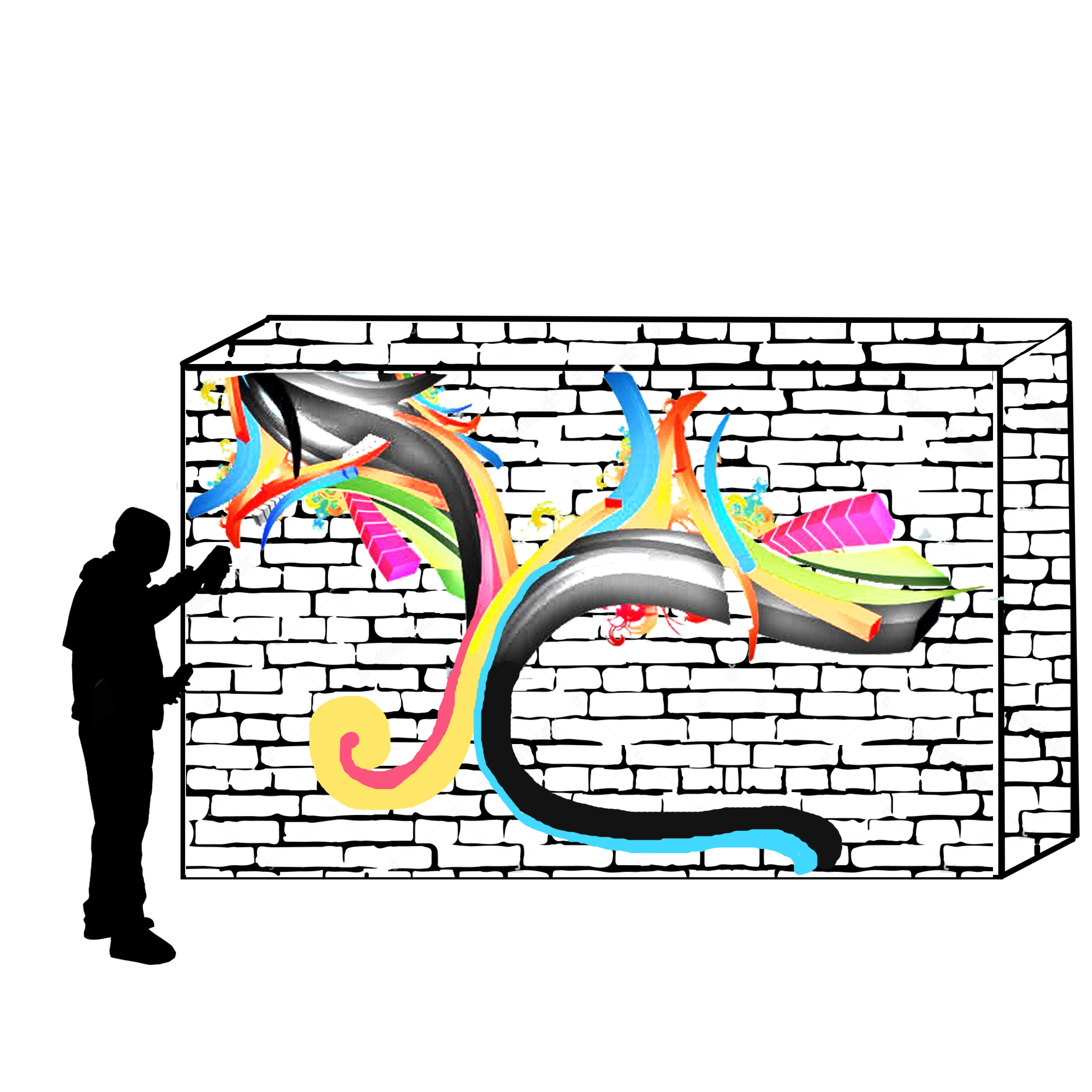 Wall Mural Graphic