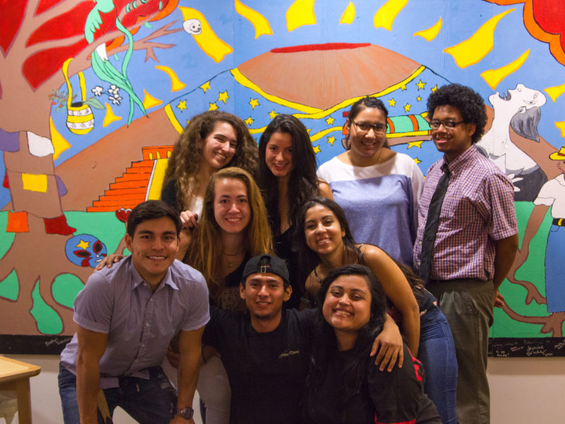 Photo by Hung Vuong. Members of the Student Organization of Latinx are working hard to plan events in celebration of Latin culture.