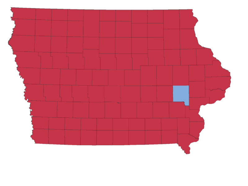 Iowa's U.S. Senate Results