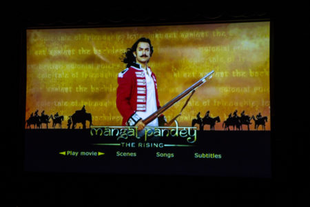 """Mangal Pandey: The Rising"" was shown during the Politics of Indian Hisory Film Festival. The movie is based on the life of an Indian soldier, Mangal Pandey, who played a crucial role in the Sepoy Rebellion of 1857. Photo by Jeff Li."
